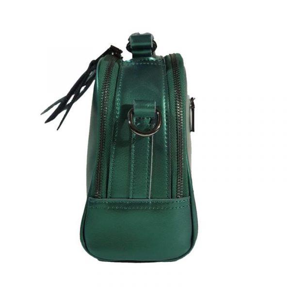 Женская сумка изумруд