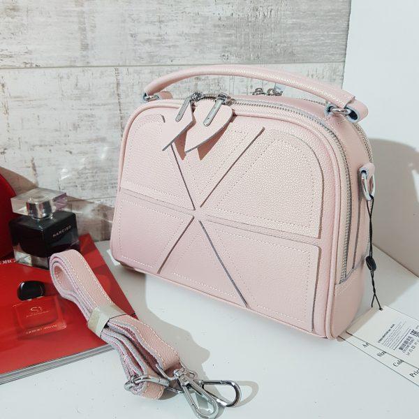 Женская сумка c ромбами