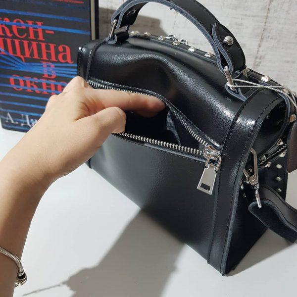 Крутая сумочка в натуральной коже